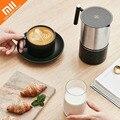 Original Xiaomi Automatische Milchaufschäumer Maschine schäumer Schnelle Heißer Milch Maker Cappuccino Pull blume Maschine Edelstahl Maker Kaffee-in Smarte Fernbedienung aus Verbraucherelektronik bei
