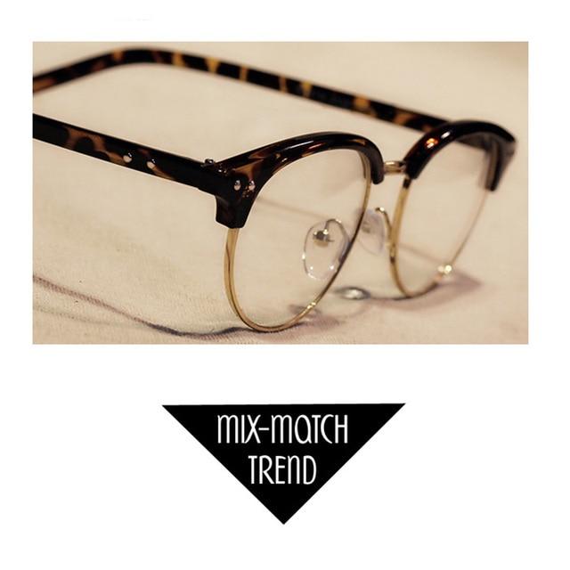 74b05afeaa 2017 Fashion Women Men Vintage Round Eyewear Frames Retro Optical Glasses  Frame Eyeglasses Goggle Frame for