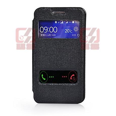 huge selection of 1e2cb e428b US $9.55 |For Samsung Galaxy S Duos 3 SM G313HU Flip View Front Hollow  Leather Cover Case on Aliexpress.com | Alibaba Group