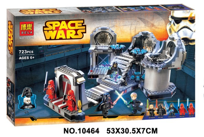 Star Wars final duel Model building kits compatible with lego 3D blocks Educational model & building toys hobbies for children lepin 05032 star wars rex s at te model building kits compatible with lego city 3d blocks educational toys hobbies for children