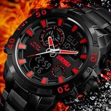 SKMEI Mens Quartz Analog Watch Luxury Fashion Sport Wristwat