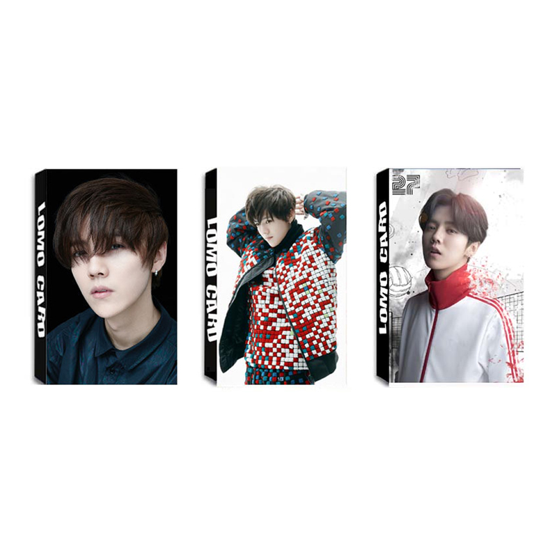 Youpop KPOP EXO LUHAN Reloaded I Album LOMO Cards K-POP New Fashion Self Made Paper Photo Card HD Photocard LK427