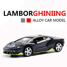2019 New Lamborghinising Car Alloy Sports Model Diecast Sound Light Super Racing Lifting Tail Hot Wheel For Children