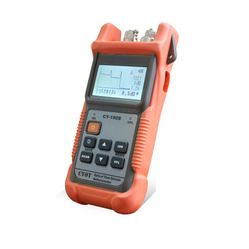 FTTX portable CY-190 SM OTDR Otdr Machine Fiber Optic OTDR Visual Fault LocationOptical Time Domain Reflectometer OTDR Tester