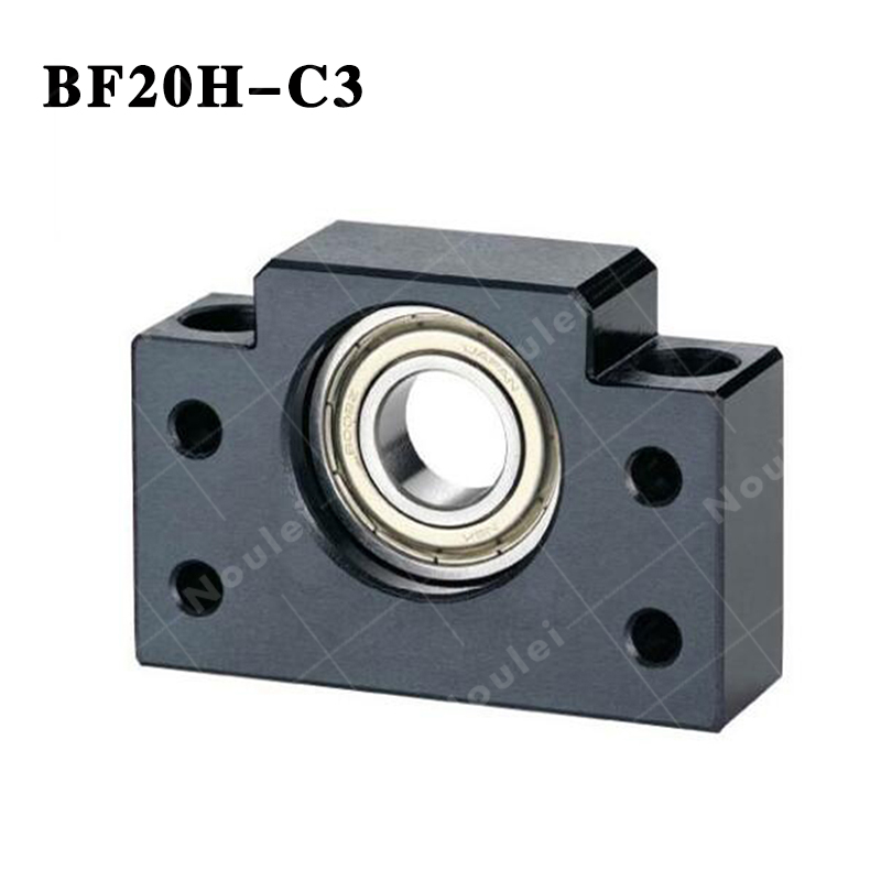 Ball screw Support Unit  supported-side ( BF20H ) BF20H-C3 Black ball screw support bearings zkln2068 2rs