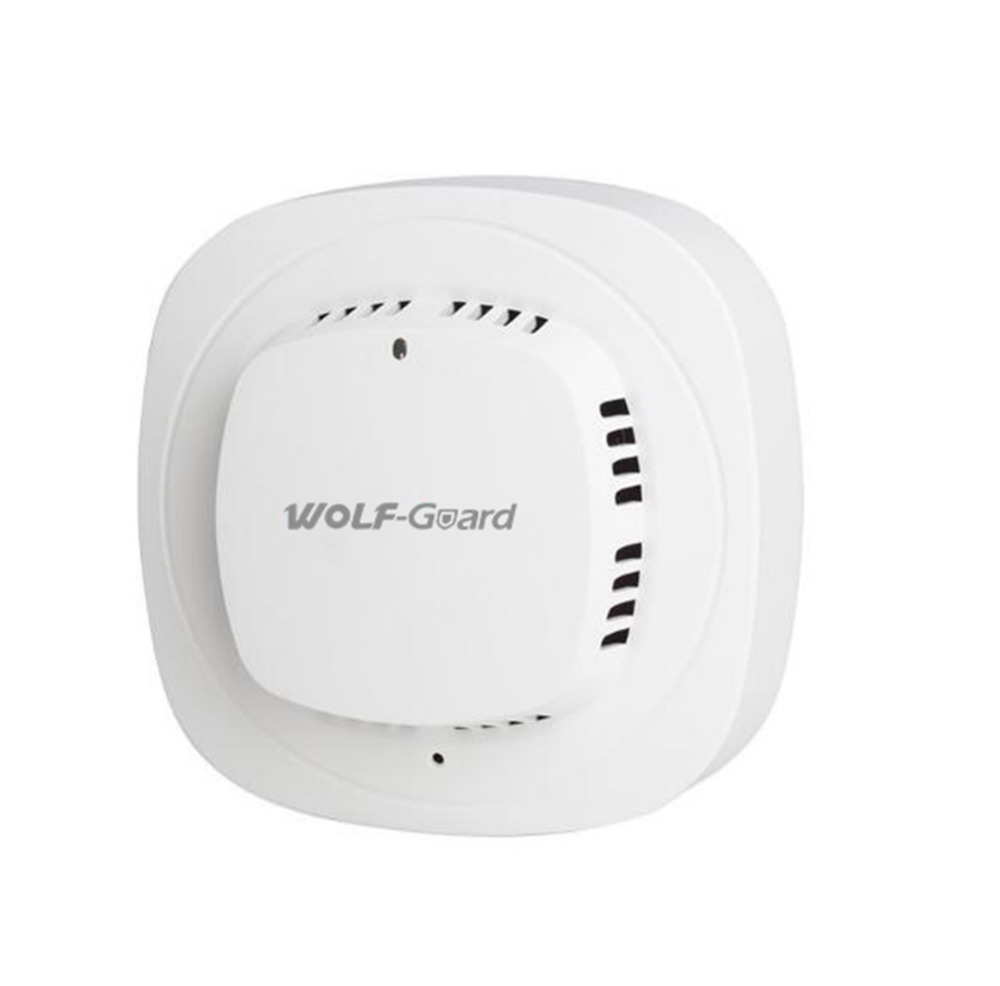 1pcs Wolf-Guard 433MHZ Wireless Smoke Detector Sensor Fire Alarm For Home Fire Security System Alarm YG-07A