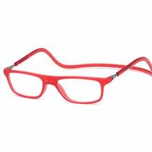 2017 Magnética Plegable gafas de lectura hombres mujeres Gafas redondas marco luneta Oculos de sol masculino conferencia homme gafas de grau