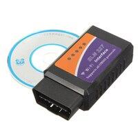 Taşınabilir Mini Oto Araba Kod Tarayıcı Okuyucu Aracı WIFI ELM327 OBDII OBD2 Oto Automotivo Arayüzü Tanı-aracı iphone