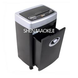 Elektryczny rozdrabniacz do gałęzi  rębak do nadaje się do biura domu wyciszenie jest twój plik rozdrabniacz do gałęzi  rębak do wysokiej mocy granulowany złamany paznokieć oszczędność energii trwałe 220 V 250 W