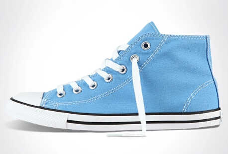 e53b9df78bc ... Original Converse All Star sneakers powderblue women high canvas shoes  for women Skateboarding Shoes free shipping ...