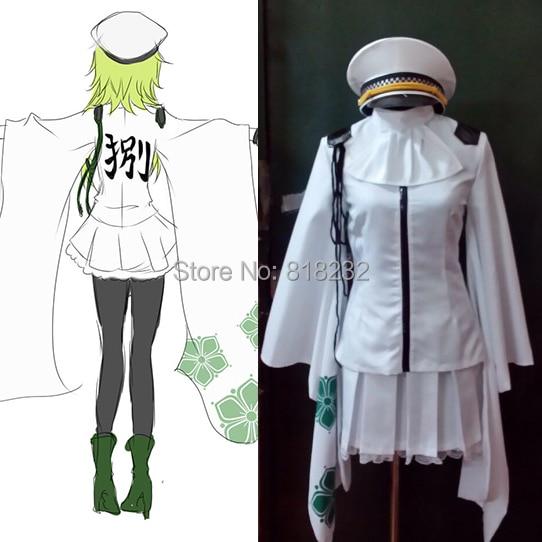 Vocaloid Hatsune Miku Senbonzakura Cosplay Costume Kimono Uniform Dress Suit