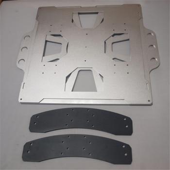 Funssor Lulzbot chariot en aluminium mise à niveau plateau de nivellement TAZ 4/5 kit de lit remplaçable Lulzbot Taz kit de mise à niveau de lit amovible|building beds|aluminium build|kit kits -