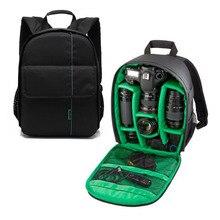 Новый Профессиональная Фотосъемка Цифровой DSLR Камеры Рюкзак Открытом Водонепроницаемый Камара Сумка С Передний Карман Большой Емкости.