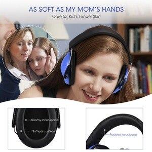 Image 3 - Mpow hp046 어린이 안전 귀 muffs 소음 감소 슈터 청력 보호 nrr 25db 어린이를위한 전문 소음 감소
