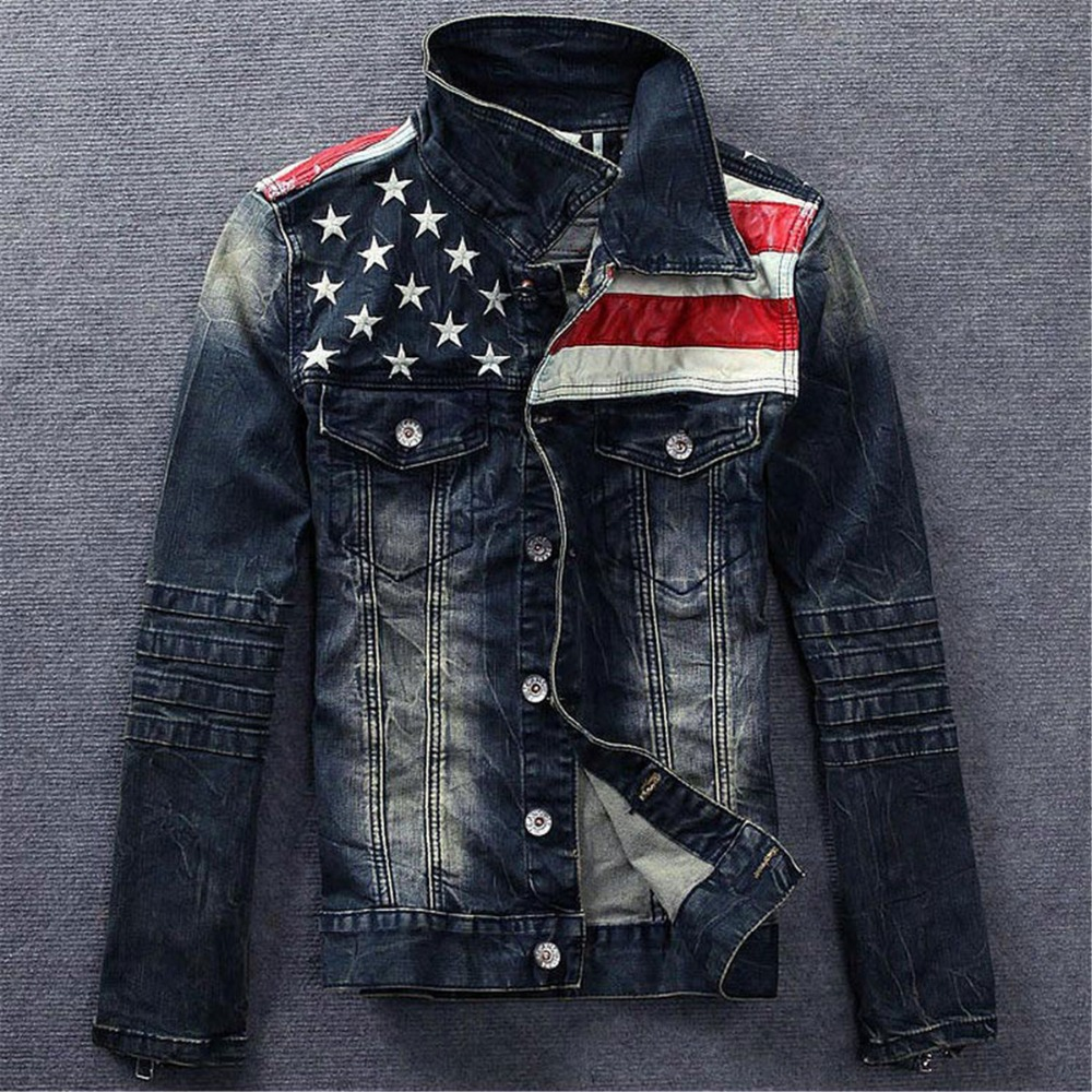 jean jacket mens Picture - More Detailed Picture about Fashion New ...