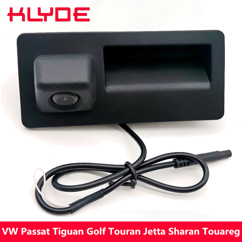 KLYDE Carro Rear View Reversa Backup De Estacionamento Camera Para VW Passat Tiguan Touran Golf Jetta Sharan Touareg/Audi A4 a5 S5 Q3 Q5