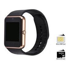 Bluetooth smart watch gt08 unterstützung sim-kartensteckplatz tragbare geräte smartwatch für iphone xiaomi samsung android telefon pk u8 dz09