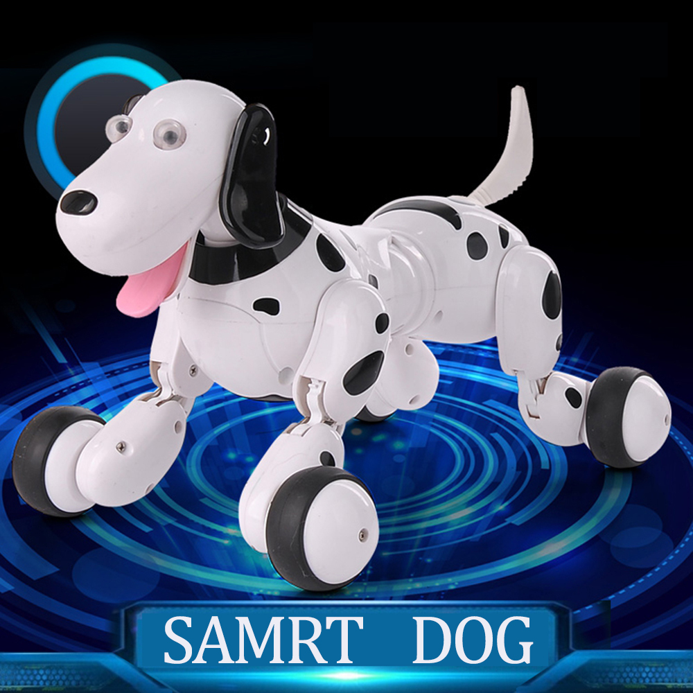 HappyCow 777-338 Birthday Gift RC Animals Toys 2.4G Remote Control Smart Dog Electronic Pet Childrens Toy Dancing Robot Dog