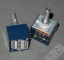 breeze audio Original Japan ALPS 27 type RK27 10K / 50K / 100K Double parallel amplifier audio Volume potentiometer