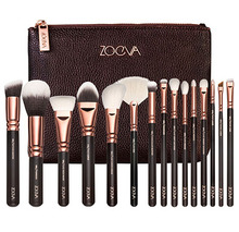 ZOEVA 8 / 12 / 15 PCS ROSE GOLDEN COMPLETE MAKEUP Brushes SET Professional Luxury Set Make Up Tools Kit Powder Blending Pencil