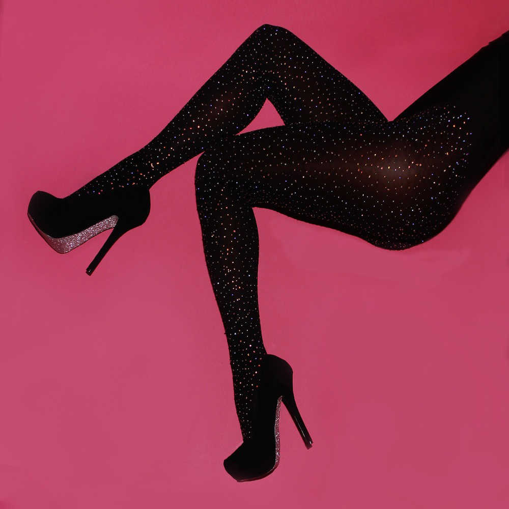 1f52d18dc0d ... Women Sexy Bling Fishnet Tights Stockings Thin Vintage Faux Tattoo Lady Stockings  Pantyhose Female Hosiery Dropship ...
