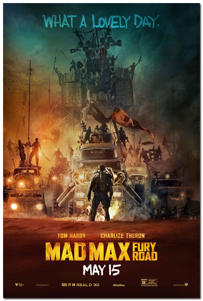 Préférence Mad Max Fury Road 2016 Movie Silk Poster Art Bedroom Decoration  QB88