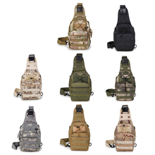 Variety colors 600D oxford fabric, high intensity Chest bag Military Utility Single Shoulder Camouflage Bag