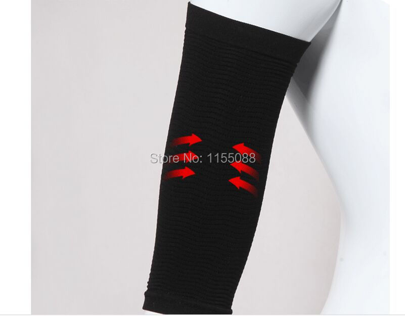 100pcs/lot Waist Corsets Thin Arm Grain Type Sets Pressure Fat Burning Stovepipe Socks Series Beam Arm Shapers