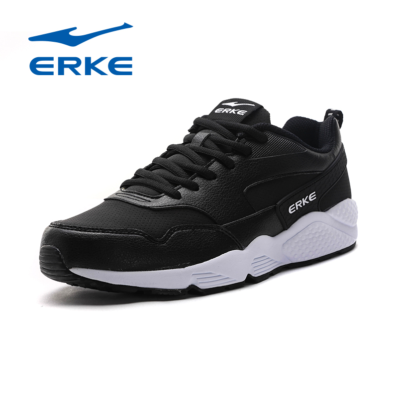 ERKE 2017 Autumn Winter New Men Sneakers Male Running Shoes Trainers Lace-up Outdoor Athletic Sport Shoes Comfortable Jogging
