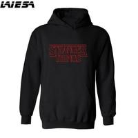LIESA Hoodies Stranger Things 2 Hooded Mens Hoodie Women Sweatshirts Oversized Autumn Winter Hip Hop Men