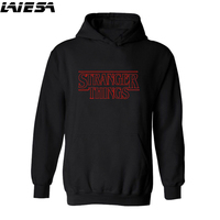 LIESA Hoodies Stranger Things 2 Hooded Mens Hoodie Women Sweatshirts Oversized Autumn Winter Hip Hop Men