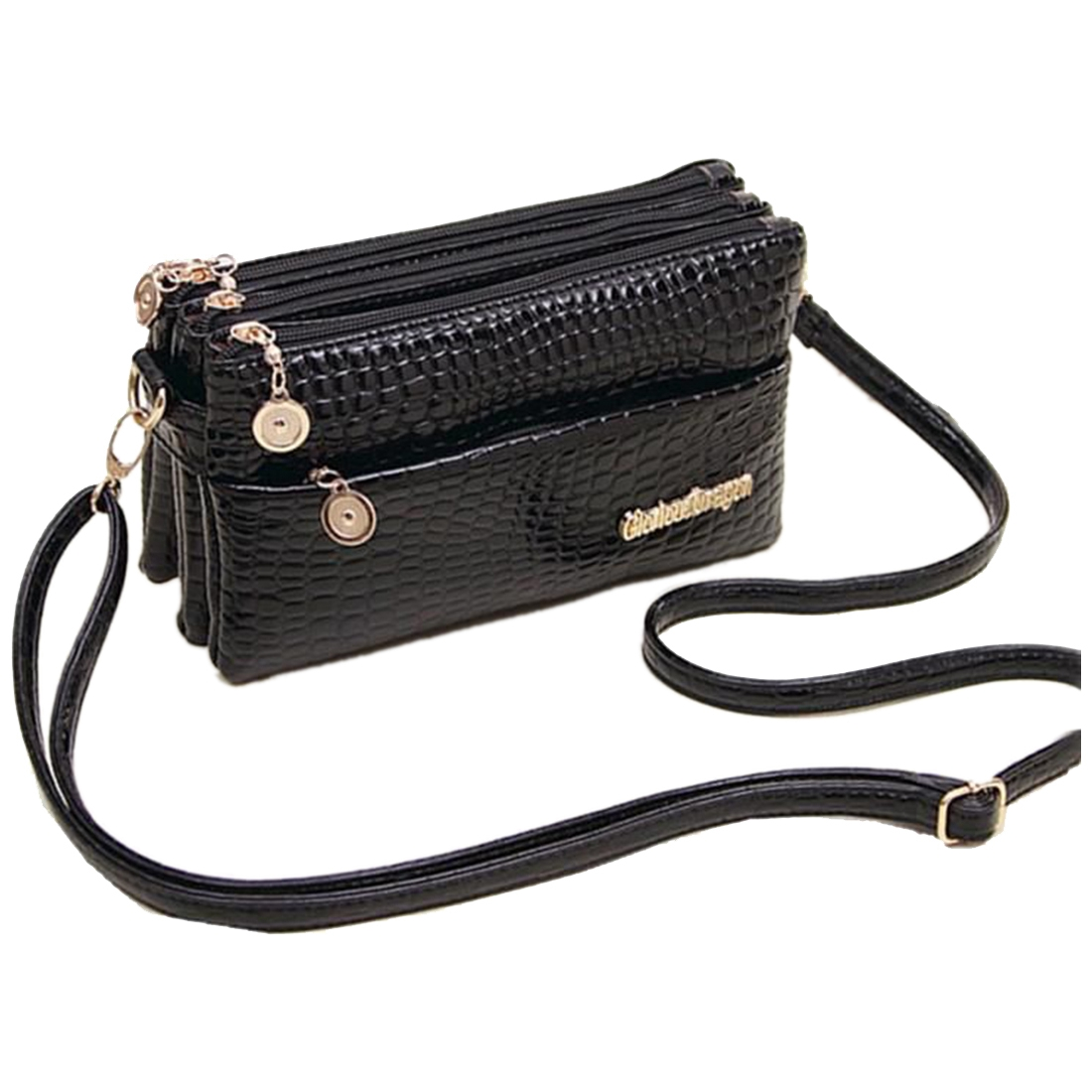 ASDS Femininas Small Shoulder Bag Crocodile Pattern Fashion Bag for Women Crossbody Bags Clutch Handbag