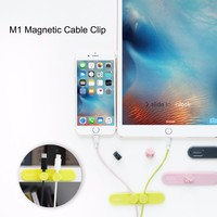Magnetic Cable Clip Original Rock M1 Magnetometric Cable Organizer Clamp With 2pcs Toggle Clip Desk Tidy
