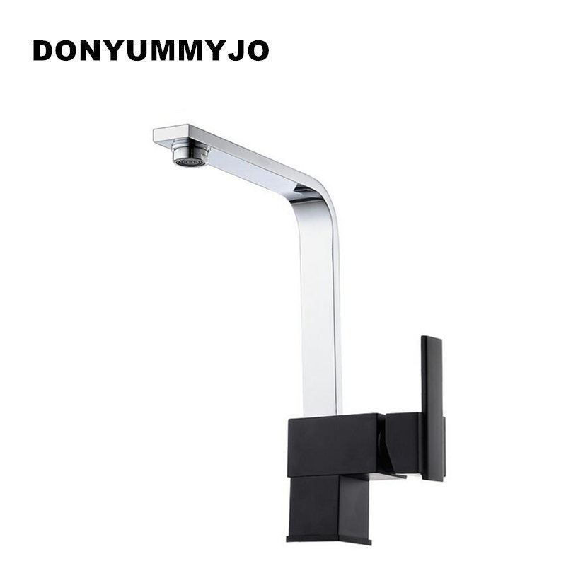 DONYUMMYJO Modern New Design Kitchen Faucets Kitchen Hot Cold Water Mixer Pure Water Tap Solid Brass Faucets 360 Swivel donyummyjo 100