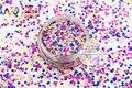RH2-271 Mix Colors Ronda Dot formas Brillo resistente a los disolventes para nail art maquillaje de uñas esmalte de uñas de gel y la decoración de DIY