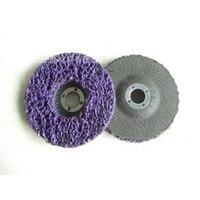 Streifen Disc Rad Holz Metall Farbe Rost Entfernung Sauberes Schleifen Schleif Räder 100*16mm Für Winkel Grinder Schleifscheiben Werkzeug -