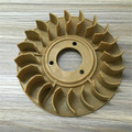 STARPAD For Gasoline Engine Accessories 168F ~ 192F wheel wind generator parts 2KW ~ 8KW motor fan cooling flywheel