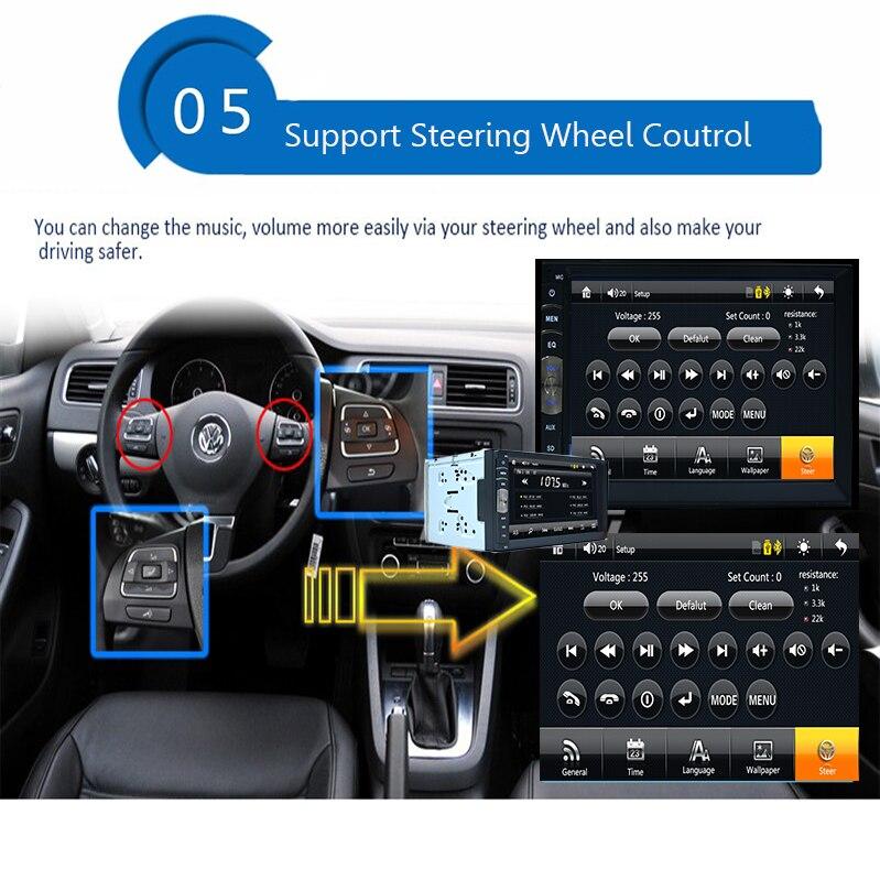 100% Новый универсальный автомобиль Радио двухместный 2 DIN Автомобильный DVD-плеер с GPS в тире автомобиля стерео головное устройство видео+Бесплатная камера заднего вида