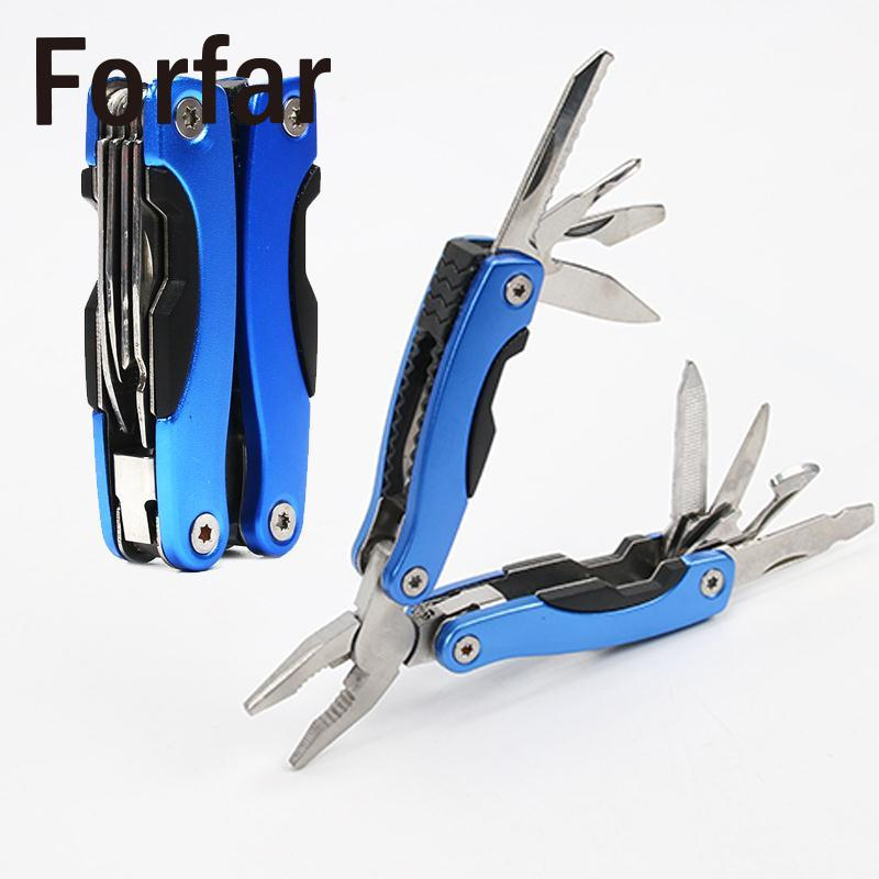 Magical Portable Folding Mini Folding Pliers Screwdriver Outdoor Survival Tools