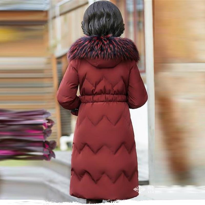 Vestes Le Capuchon Haut D'âge Hiver Bas Plus Manteau Gamme Black Coton Parkas Vers Femelle Épais red Femmes Moyen La Chaud De À Survêtement Taille Nouvelle Veste wFaqYvXnv