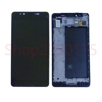 Per Nokia Lumia 950 RM-1104 RM-1118 Display LCD Touch Screen Digitizer Telaio di Montaggio Parti di Ricambio