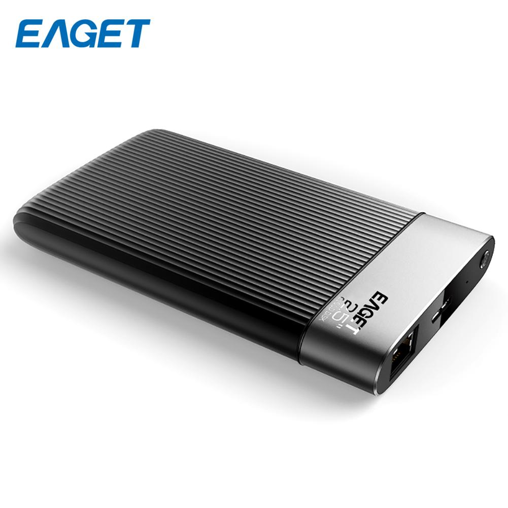 Eaget Y200 2.5Inch 1TB SATA USB3.0 Smart Mobile Hard Drives Security Encryption External HDD Network Cloud Disk For Computer