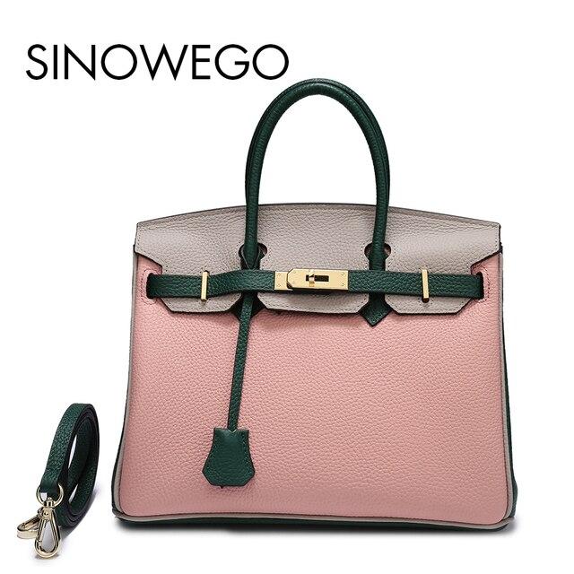 Dropshipping Top Handle Bags Small Shoulder Bag Female Designer Women Handbag Genuine Leather Crossbody