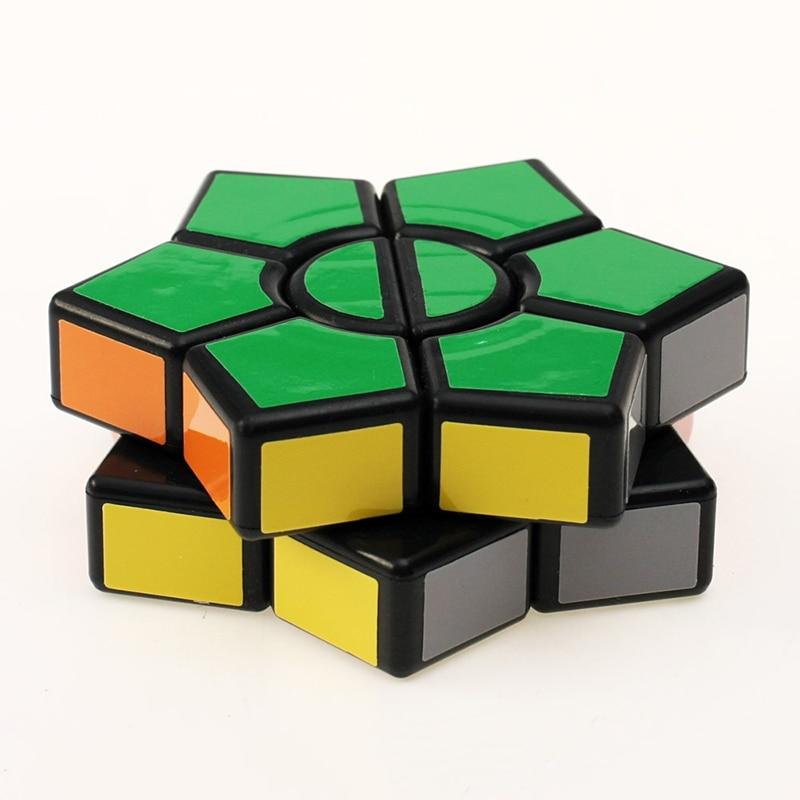 New Arrival 2-layers Super Square-1 Star Hexagonal Magic Cube David - ფაზლები - ფოტო 3
