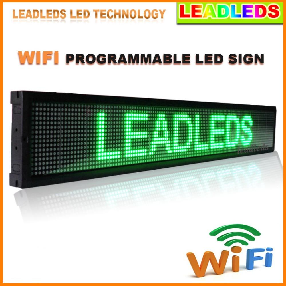 Indoor-wifi Programmierbaren Led Schild4