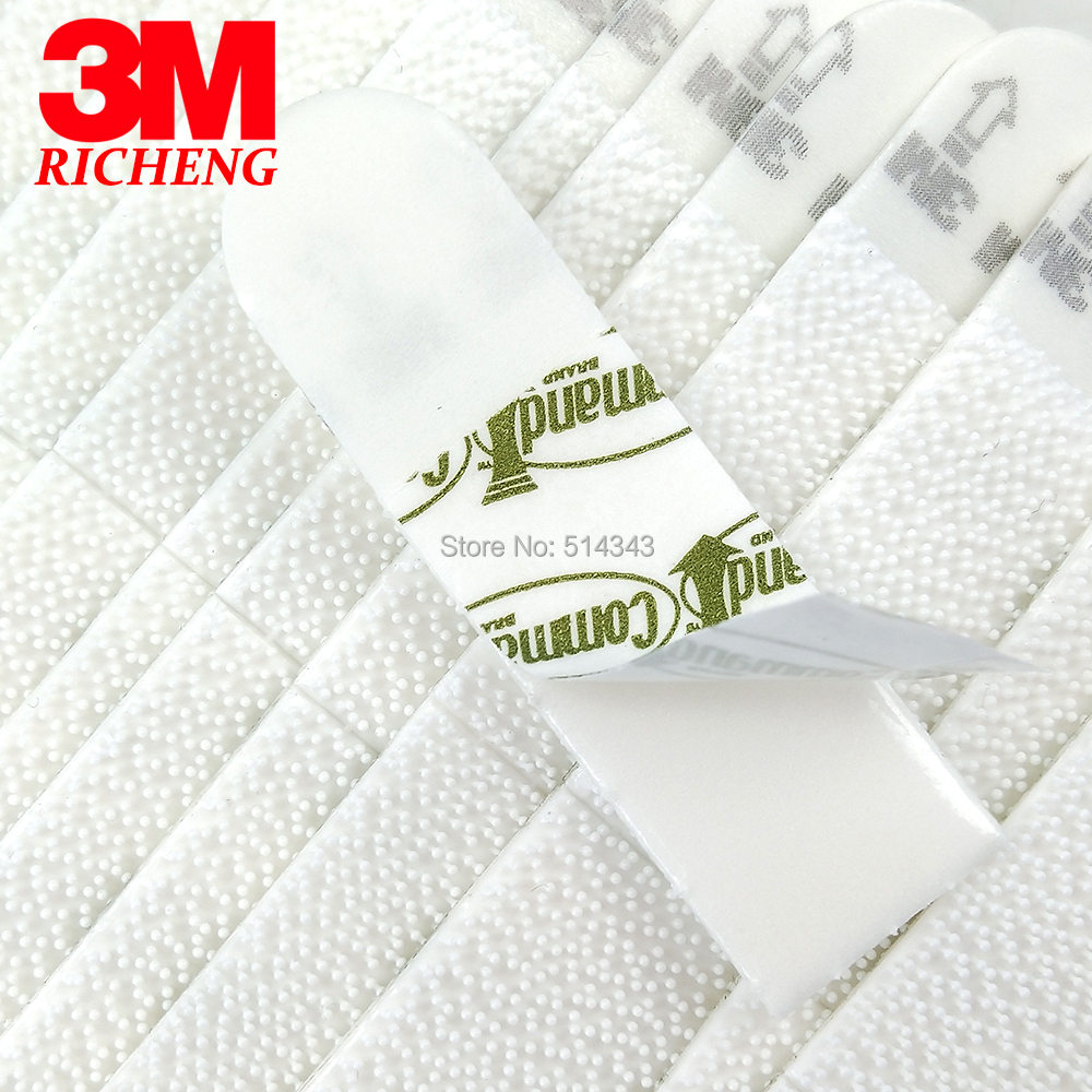 60pcs Small 3M Command Picture Hanging Strips Command Damage-Free Strips Command Inter Locking Faster Brand New фото