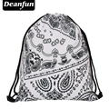 Bolsa Deanfun Señoras 3D Impresión Mochila Escolar Viajes Softback Mochila Feminina Bolso de Lazo Skd33