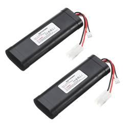 7.4V 1800mAh HL 18650 2S akumulator li po dla Heng Long RC HL3818 1 3889 1 3809 1:16 zabawkowy czołg Upgrade L6.2 2P o dużej pojemności w Części i akcesoria od Zabawki i hobby na