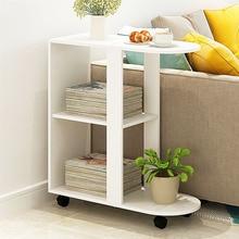 Простой мини-журнальный столик подвижный диван боковой стол креативный ночной столик гостиная диван боковой шкаф чайный стол мебель для дома
