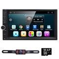 Свободная камера 2 din android 6.0 автомобильный dvd плеер с сенсорным juke qashqai almera x-trail для nissan gps радио видео головное устройство